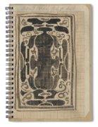 Decorative Design, Carel Adolph Lion Cachet, 1874 - 1945 Spiral Notebook