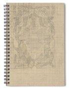 Decorative Design, Carel Adolph Lion Cachet, 1874 - 1945 U Spiral Notebook