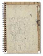 Decorative Design, Carel Adolph Lion Cachet, 1874 - 1945 W Spiral Notebook