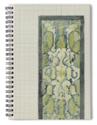 Decorative Design In Green And Blue, Carel Adolph Lion Cachet, 1874 - 1945 Spiral Notebook