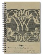 Decorative Design In National Colors, Carel Adolph Lion Cachet, 1874 - 1945 Spiral Notebook