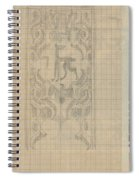 Decorative Design With An Animal, Carel Adolph Lion Cachet, 1874 - 1945 Spiral Notebook