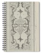 Decorative Design With Color Indications, Carel Adolph Lion Cachet, 1874 - 1945 Spiral Notebook