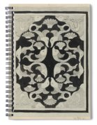 Decorative Design With Fish, Carel Adolph Lion Cachet, 1942 Spiral Notebook