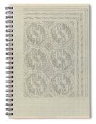 Decorative Design With Geometric Motif, Carel Adolph Lion Cachet, 1874 - 1945 Spiral Notebook