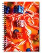 Decorative Xmas Spiral Notebook