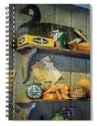Decoy Workshop Shelves Spiral Notebook