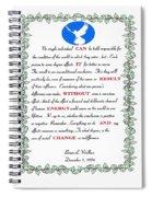 Decree Spiral Notebook