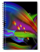 Deep Blue Marine Life Spiral Notebook