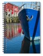 Deep Color Spiral Notebook