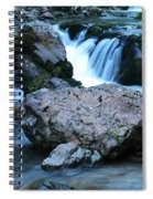 Deep Creek Flowing Between The Rocks Spiral Notebook