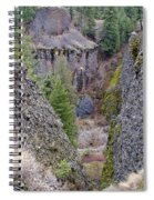 Deep Creek Gorge Spiral Notebook