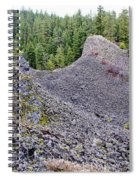 Deep Creek Rocks Spiral Notebook