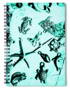 Deep Divers Display Spiral Notebook