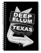Deep Ellum Texas Spiral Notebook