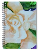 Deep Gardenia Spiral Notebook
