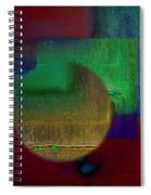 Deep Geometry Spiral Notebook