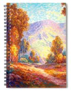 Radiant Peace, Colors Of Fall Spiral Notebook