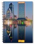 Deep Sea Blue Spiral Notebook