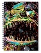 Deep Sea Monster Fish Spiral Notebook