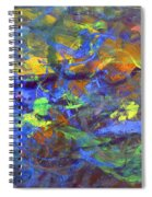 Deep Space Abstract Art Spiral Notebook