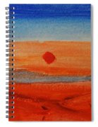 Deep Sunset Spiral Notebook