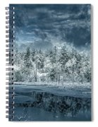 Deep Winter Spiral Notebook