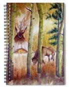 Deep Woods Camp Spiral Notebook