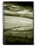 Deepening Shadows Spiral Notebook