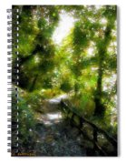 Deeper Into The Greenwood Spiral Notebook