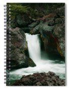 Deer Creek Falls Spiral Notebook