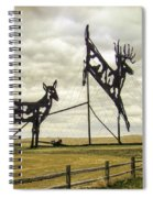 Deer Crossing Spiral Notebook