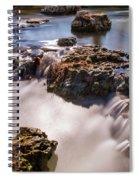 Deer Lake Riffles In Forest Park, St Louis, Missouri Spiral Notebook