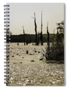 Deer Point Lake At Dusk Spiral Notebook