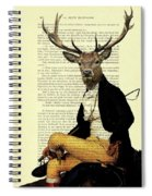 Deer Regency Portrait Spiral Notebook