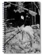 Deer Silhouette Spiral Notebook