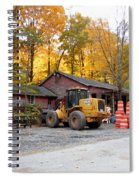 Deer Tractor  Spiral Notebook