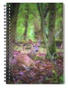 Deer1 Spiral Notebook