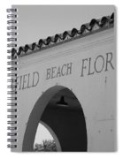 Deerfield Beach Florida Spiral Notebook
