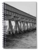 Deerfield Beach Pier Spiral Notebook
