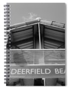 Deerfield Beach Spiral Notebook