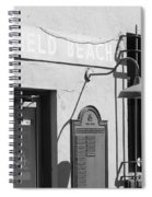 Deerfield Beach Train Station Spiral Notebook