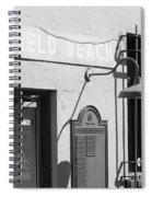 Deerfield Beach Train Station Spiral Notebook