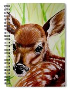 Deerly Beloved Spiral Notebook