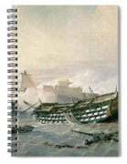 Defence Of The Havana Promontory  Spiral Notebook