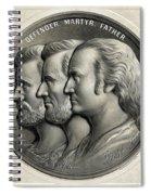 Defender Martyr Father Spiral Notebook