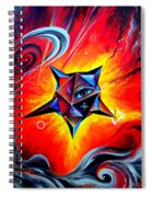Defender Of The Way To Nirvana Spiral Notebook