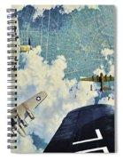 Defender. The Battle Of Berlin Spiral Notebook