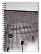 Defense Paris Spiral Notebook
