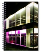 Defiance College Library Night Time Spiral Notebook